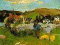 9 The-Swineherd-Paul-Gauguin-1888